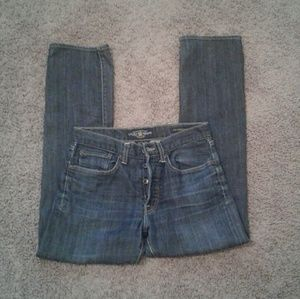 **Lucky Brand 121 Heritage Slim button fly jeans